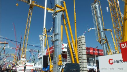 Manitowoc will unveil six new models from its Grove and Potain lines at bauma 2019