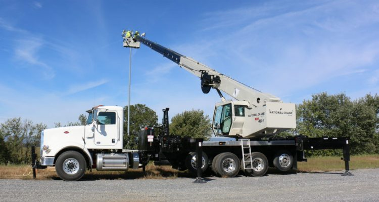 National Crane unveils new Rapid Attach Platform for NBT series