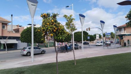 ACCIONA Construction lights up Molina de Segura in Murcia with photovoltaic streetlights