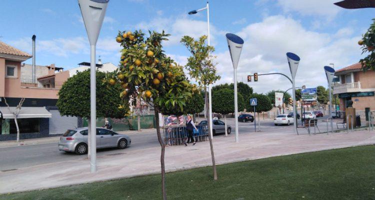 ACCIONA Construction lights up Molina de Segura in Murcia with photovoltaic streetlights