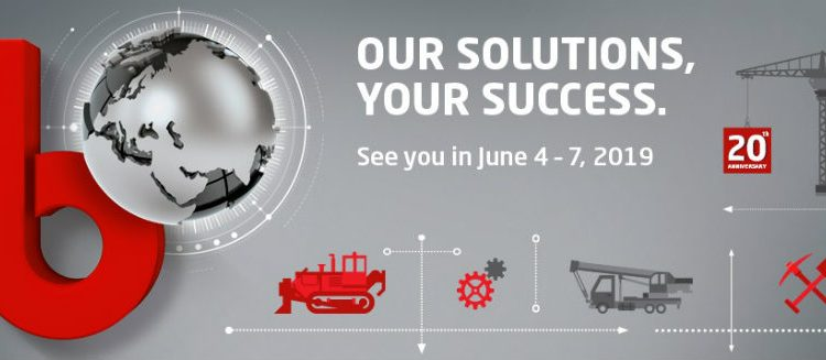 Registration for bauma CTT RUSSIA 2019 is open