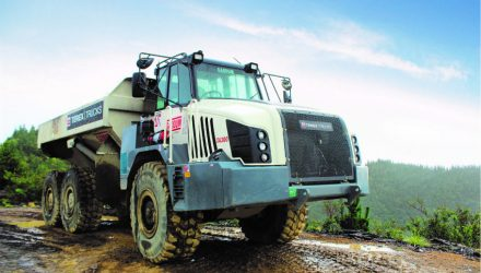 Terex Trucks gears up for bauma 2019 with the newly upgraded TA300 articulated hauler