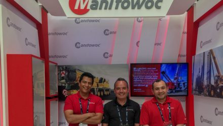 Manitowoc at the15th National Congress of Infrastructure in Cartagena
