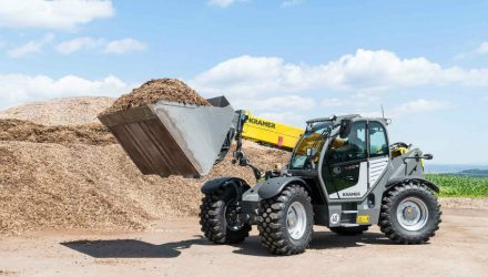 Kramer presents the new telescopic wheel loader 8145T at the Bauma 2019