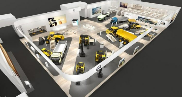 Volvo looks to the future at bauma 2019 under the motto 'Building tomorrow'