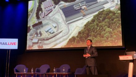 Follo Line project presented at Rail Live 2019 held in Bilbao