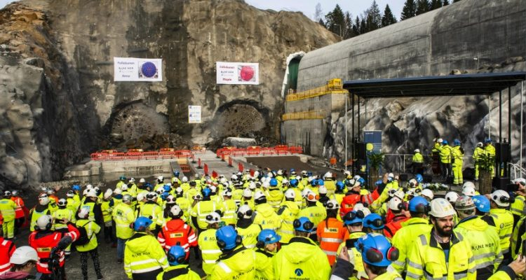 ACCIONA completes excavation of the tunnel for the Follo Line project in Norway
