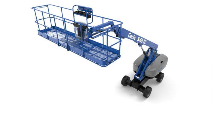 Genie 4 m (13 ft) Platform and productivity tools at Bauma 2019