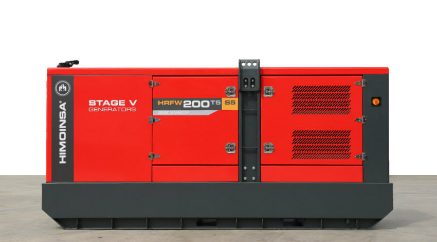 Tunnel & Infrastructures S5 Range - New S5 generator sets