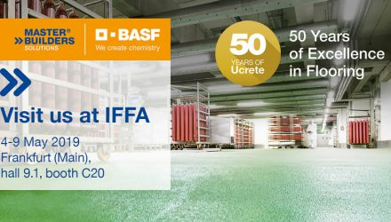 Master Builders Solutions presents Ucrete flooring systems at IFFA 2019