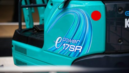 Kobelco to launch its first electric mini excavator: 17SR