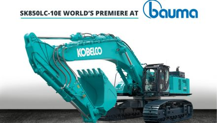 SK850LC-10E | Kobelco to launch its largest excavator in Europe