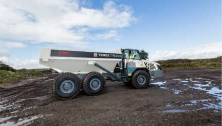 Terex Trucks' upgraded TA300 hauler is ready to impress at Balmoral Show