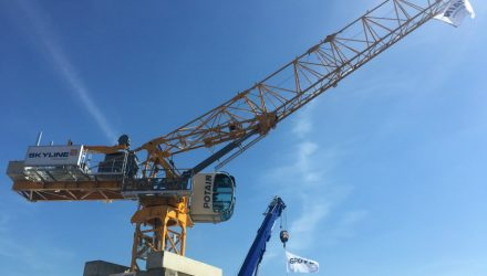 Manitowoc showcases new Potain MRH 125 at Vertikal Days