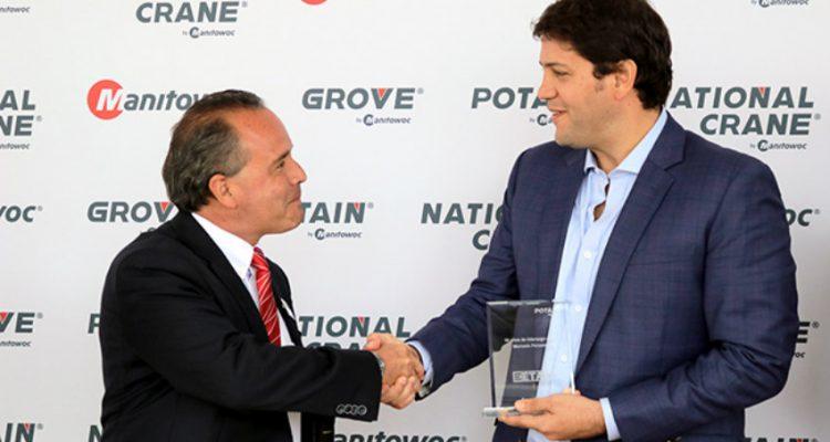 Potain and ETAC Peru celebrate 10 years of successful partnership
