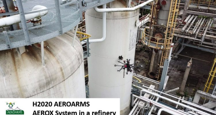 Corrosion in oil pipes could be avoided with drones