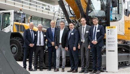 Five Generation 8 crawler excavators for Meyer Erdbau GmbH & Co. KG