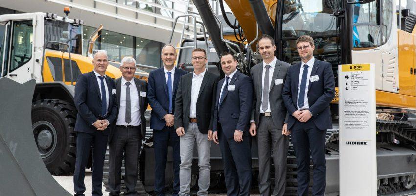 Five Generation 8 crawler excavators for Meyer Erdbau GmbH & Co. KG