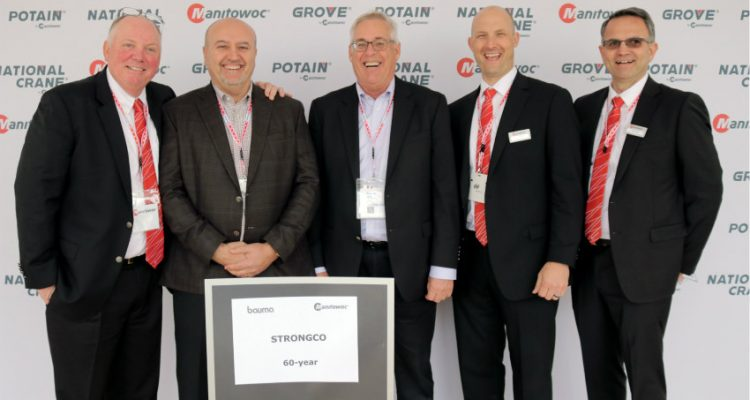 Grove and Strongco celebrate six decades of dealer success in Canada