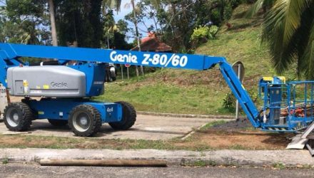 Excellent below-level reach for a challenging task in Martinique