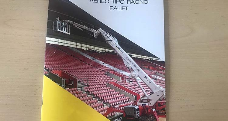 The new Palift general catalog highlighting benefits of Palazzani spider lifts