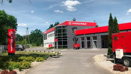 HIMOINSA inaugurates its new 10,000 m2 facilities in Poland