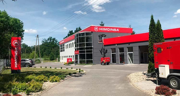 HIMOINSA inaugurates its new 10,000 m2 facilities in Poland