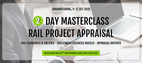 2 day masterclass Rail Project Appraisal