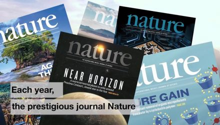 Thales recognised by Nature, the international journal of science