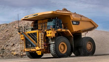 Cat 794 AC Mining Truck Meets Strictest U.S. Emissions Standards