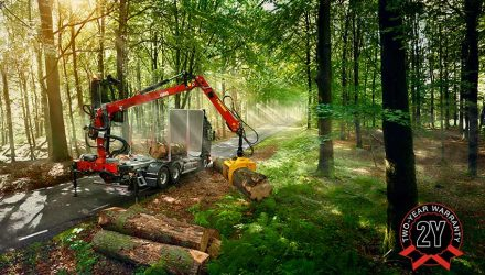 Hiab extends warranty for all LOGLIFT and JONSERED crane models