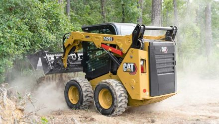 New Cat D3 Series Skid Steer and Compact Track Loaders