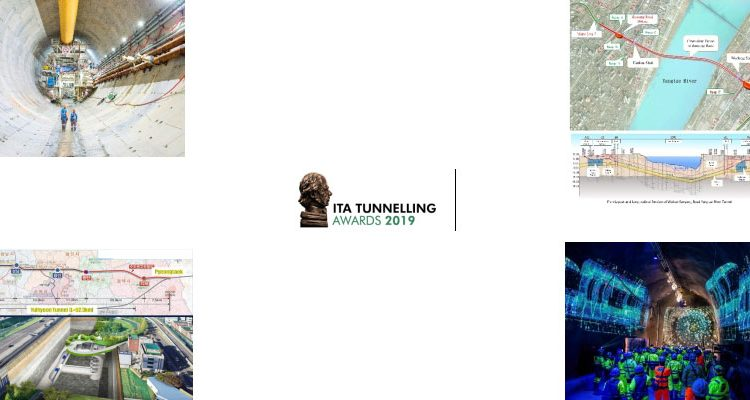 4 finalists for the Major Project of the Year - ITA Tunnelling Awards 2019