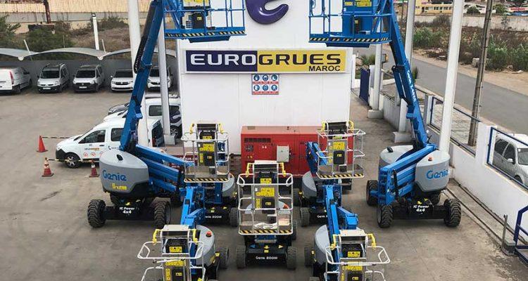 Eurogrues Maroc consolidates its Genie fleet in Morocco