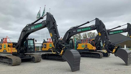 Volvo CE helps hit pioneering connectivity milestone