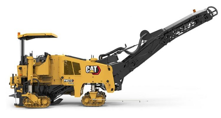 Caterpillar introduces updates to the PM310, PM312 & PM313 cold planers