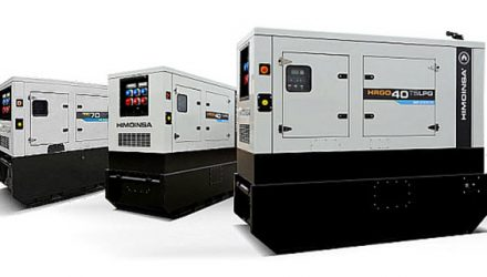 Innovation Award for HIMOINSA 's gas-powered rental generator sets