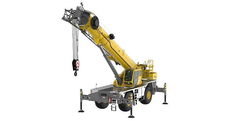 Manitowoc unveils Grove GRT8120 at CONEXPO 2020