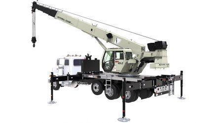 Manitowoc unveils National Crane NBT40-2 series boom trucks